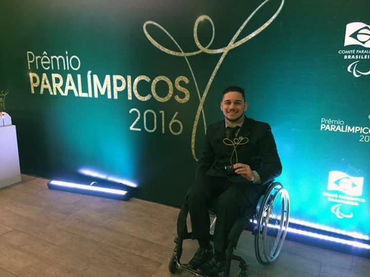 Julio César Braz, Prêmio Paralímpicos 2016