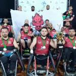 Campeã 2017 - Equipe Minas Quad Rugby (Javali)